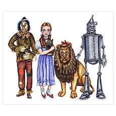 Wizard of Oz Gang Poster