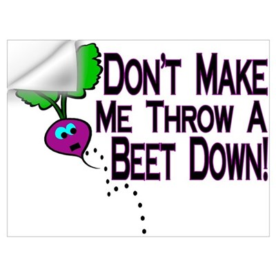 Beet Down Wall Decal