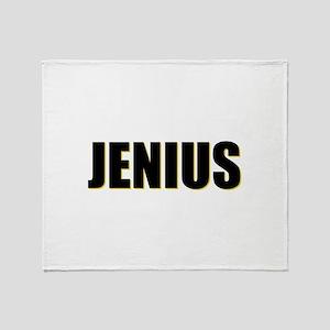 Jenius Genius Throw Blanket