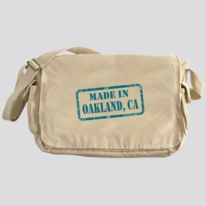 MADE IN OAKLAND, CA Messenger Bag