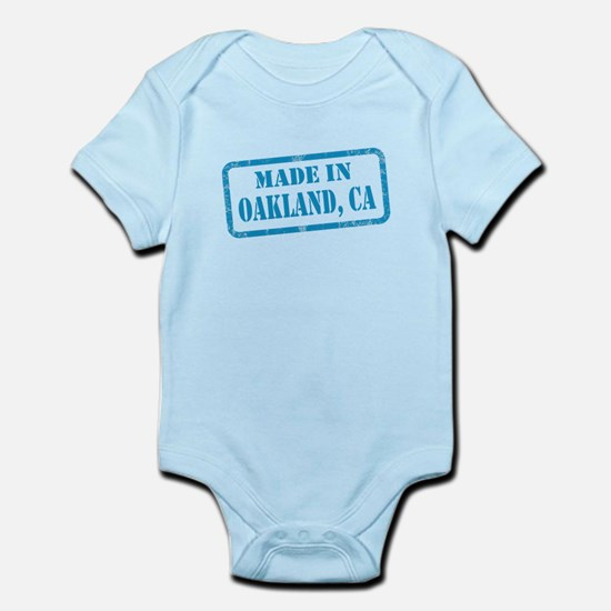 MADE IN OAKLAND, CA Infant Bodysuit