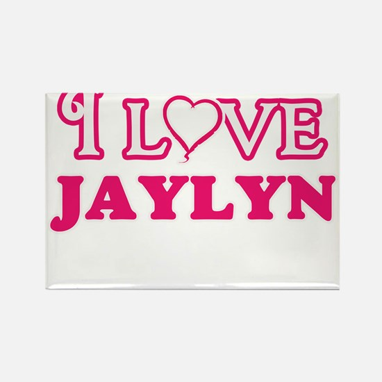 I Love Jaylyn Magnets