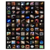 The universe Posters