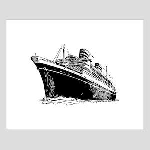 Ocean Liner Ship Small Poster