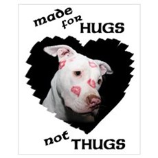 Made for Hugs, Not Thugs Framed Print