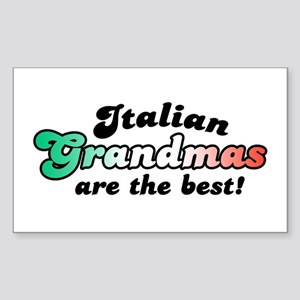 Italian Grandmas Rectangle Sticker