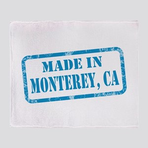 MADE IN MONTEREY, CA Throw Blanket