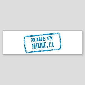 MADE IN MAILBU, CA Sticker (Bumper)