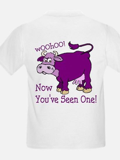 Purple Cow / Poem Kids T-Shirt