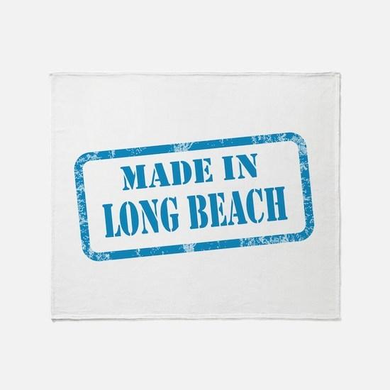 MADE LONG BEACH, CA Throw Blanket