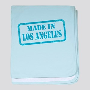 MADE IN LOS ANGELES baby blanket