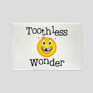 Toothless Wonder Rectangle Magnet