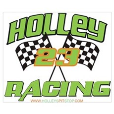 Holley Racing Poster