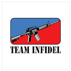 Team Infidel Logo Poster