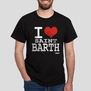 I love Saint Barthelemy Dark T-Shirt