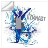 Boys gymnastics Wall Decals