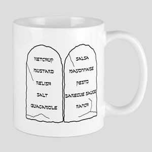 Ten Condiments Mug
