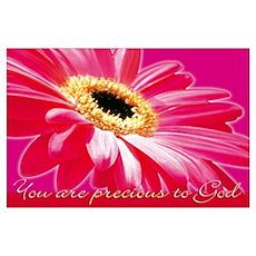 Christian : You are precious to God Poster