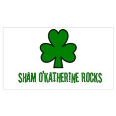 O' katherine rocks Poster