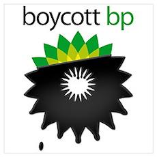 boycott bp Poster