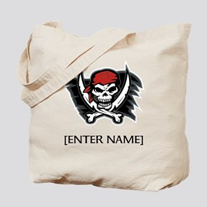 Pirate Flag Personalize! Tote Bag