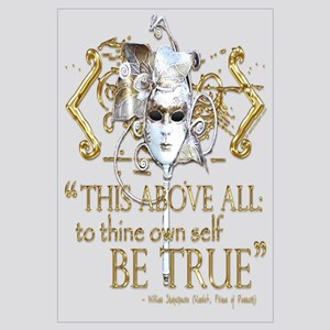 "Hamlet ""Be True"" Quote"