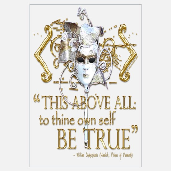 "Hamlet ""Be True"" Quote"