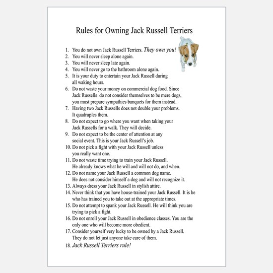 Rules for Owning JRTs