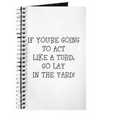 Turd Journals & Spiral Notebooks
