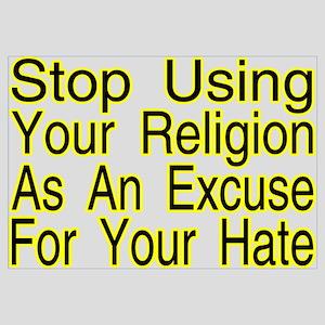 Stop Using Religion