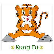 Kung Fu Tiger™ Poster