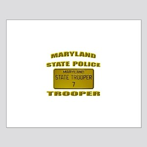 Maryland State Police Small Poster