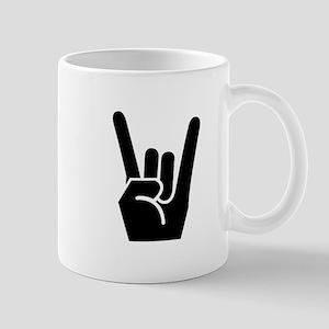 Rock Finger Symbol Mug