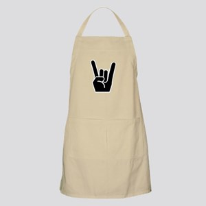 Rock Finger Symbol Apron