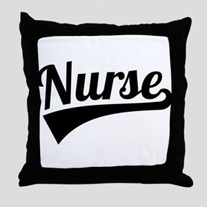 Nurse Throw Pillow