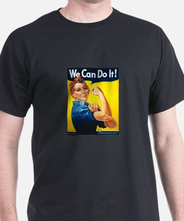Rosie We Can Do It T-Shirt