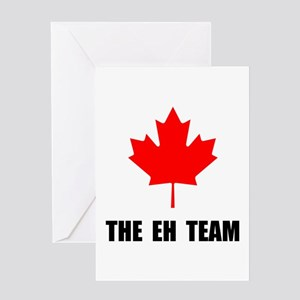 Canada The Eh Team Greeting Card