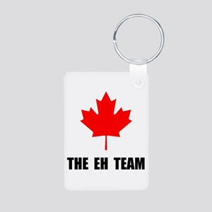 Canada The Eh Team Aluminum Photo Keychain