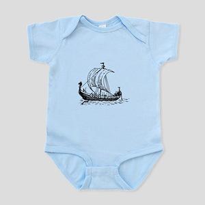 Viking Ship Infant Bodysuit
