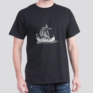 Viking Ship Dark T-Shirt