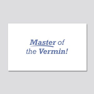 Vermin / Master 22x14 Wall Peel