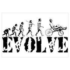 Recumbent Bicycle Poster