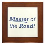 Road / Master Framed Tile