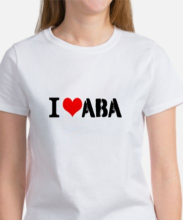 I Heart ABA Women's T-Shirt