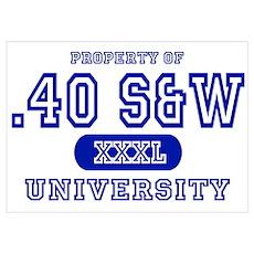 .40 S&W University Poster