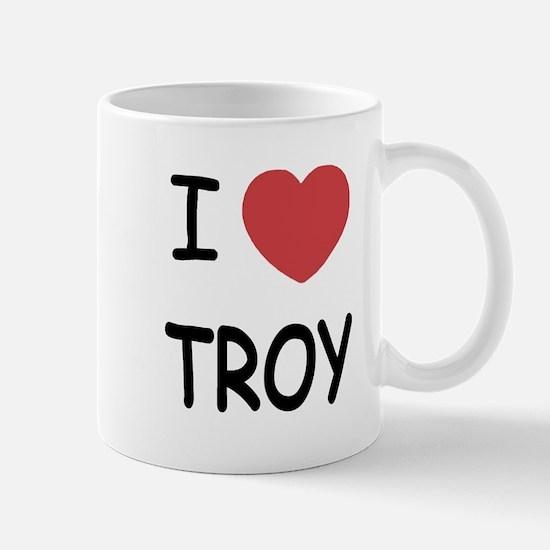 I heart Troy Mug