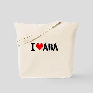 I Heart ABA Tote Bag