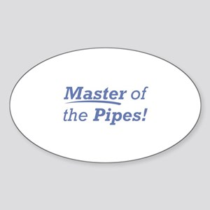 Pipes / Master Sticker (Oval)