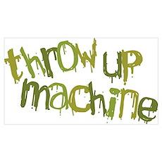 Throw Up Machine Poster