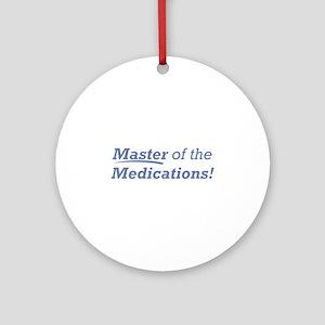 Medications / Master Ornament (Round)